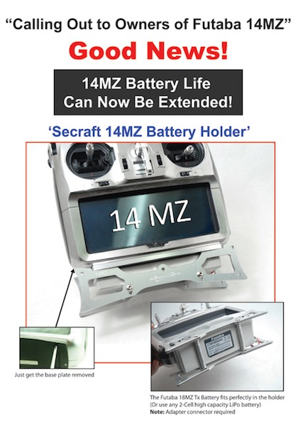 Secraft 14MZ Battery Holder